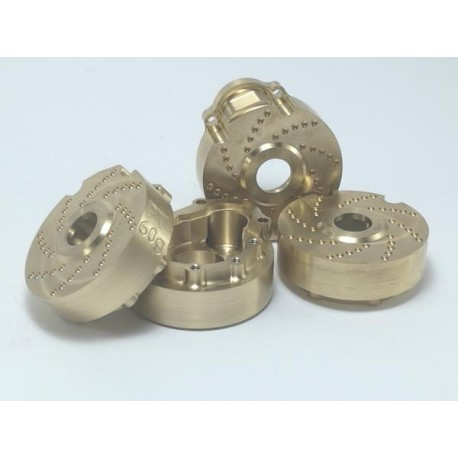 Portal drive housing Brass V2 (4pcs)
